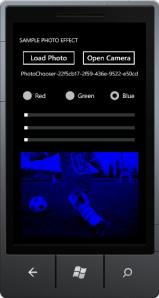 effect blue